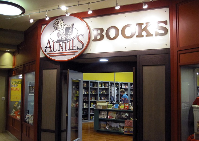 Auntie's at the Square, on the second floor of River Park Square, will close at the end of January. - AUNTIE'S BOOKSTORE