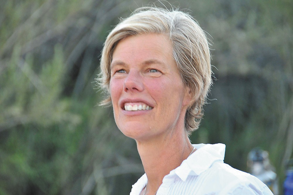 Author and Spokane native Ann Pelo.