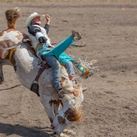 PHOTOS: Cowboys, calves and wild horses at the Cheney Rodeo