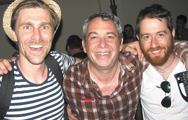 Bassist Mike Watt (center) has delved into Italian punk with his recent endeavor Il Sogno Del Marinaio.