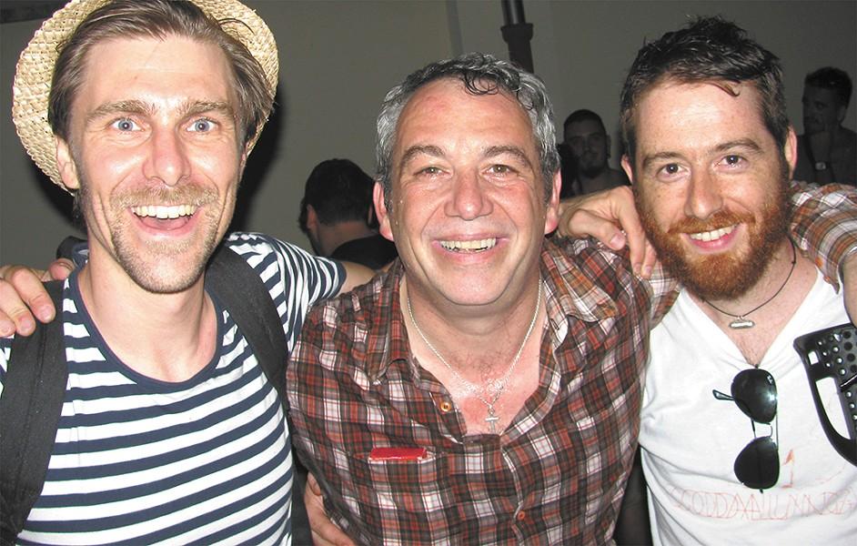Bassist Mike Watt (center) has delved into Italian punk with his recent endeavor Il Sogno Del Marinaio.