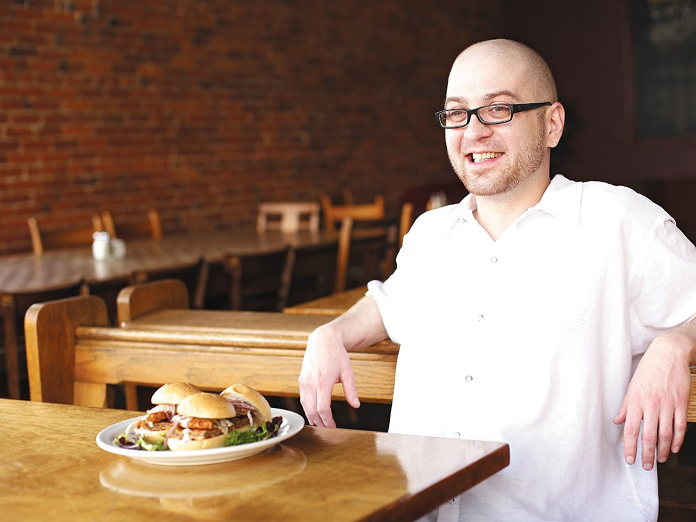 Ben Cochran, the chef at Scout, has noticed a change in dining habits since the smoking ban was enacted in 2005. - YOUNG KWAK