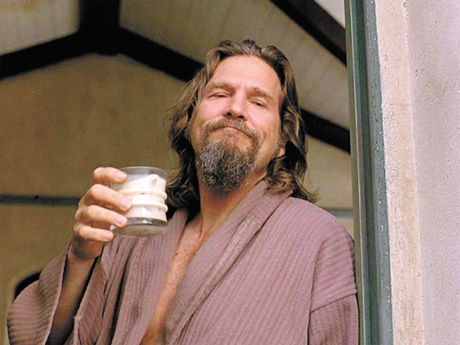 Besides White Russians, the Dude liked his pot.