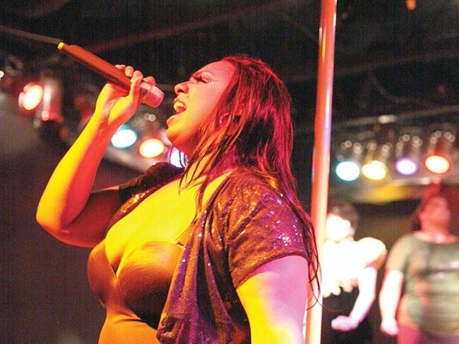 Beyonce Blaque leads Le Gurlz last weekend at Hollyrock. - YOUNG KWAK