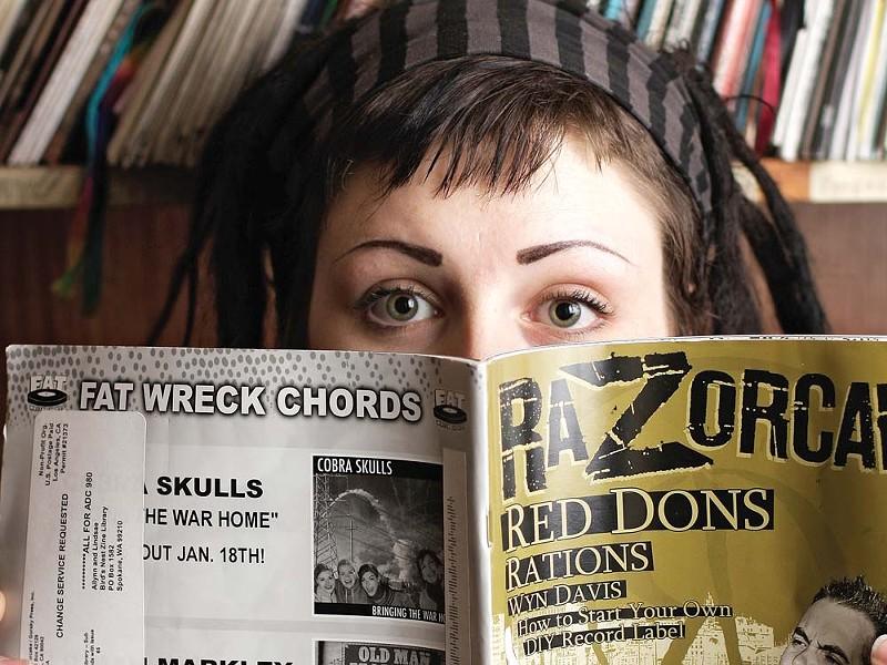 Bird's Nest Zine Library co-founder Lindsae Williams-Sindalu. - YOUNG KWAK