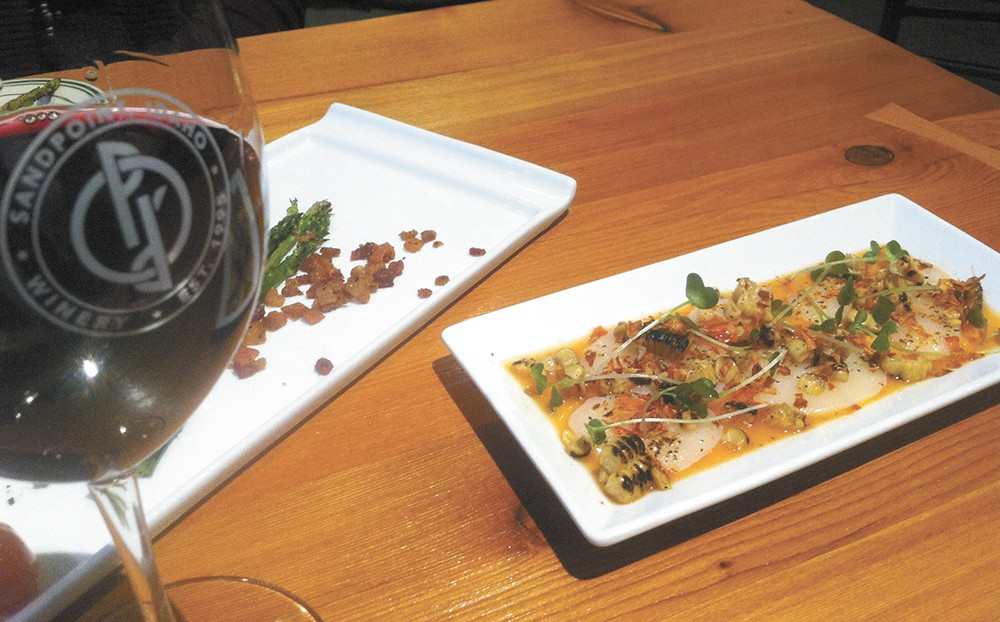 Bistro Rouge now offers creative cuisine, paired with their wines. - CARRIE SCOZZARO