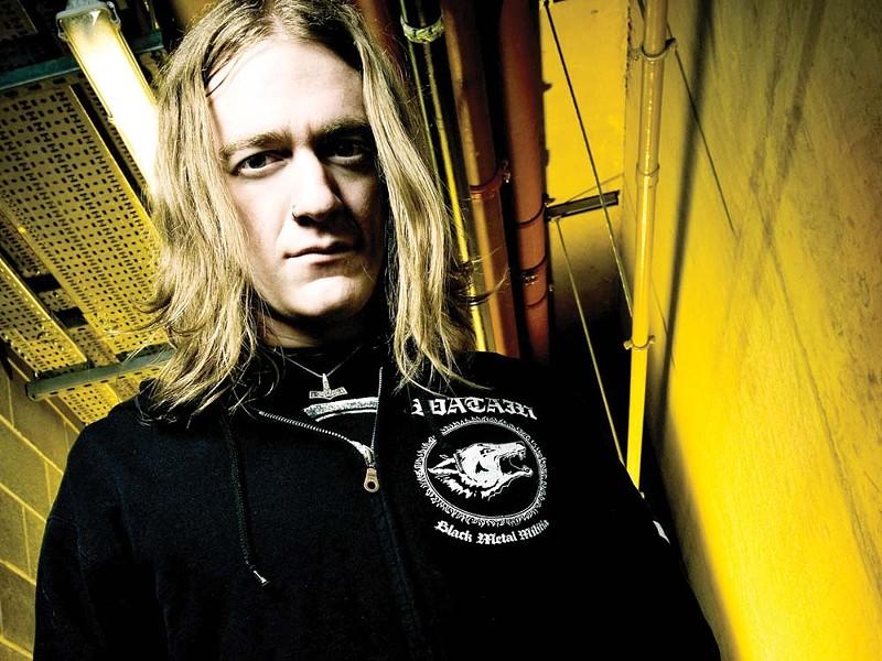 Blake Judd of Nachtmystium.