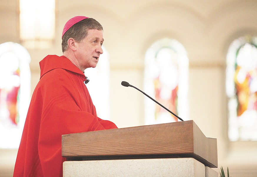 Blase Cupich was fast-tracked by Pope Francis to head up the Chicago diocese. - YOUNG KWAK