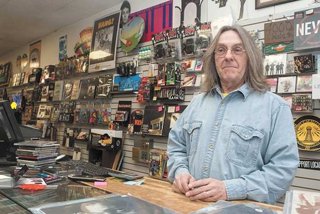 "Bob Gallagher: ""It has never sounded better than vinyl."" - MEGHAN KIRK"