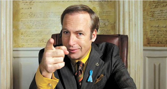 Bob Odenkirk reprises his Breaking Bad role.