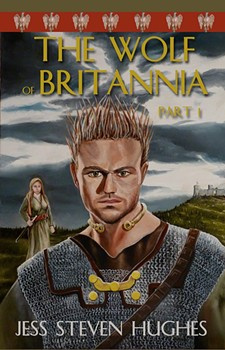 Book Cover - The Wolf of Britannia, the young Caratacus