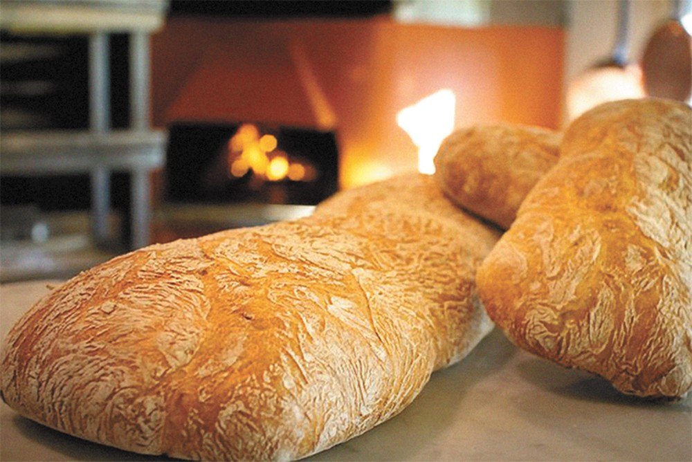 Bouzies Bread isn't the only thing warm at Luna this holiday season.