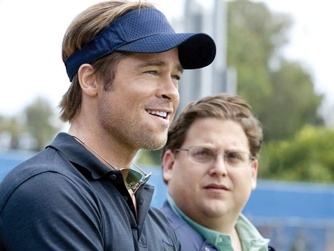 Brad Pitt, like Billy Beane, staked a lot on a project everyone considered a loser.