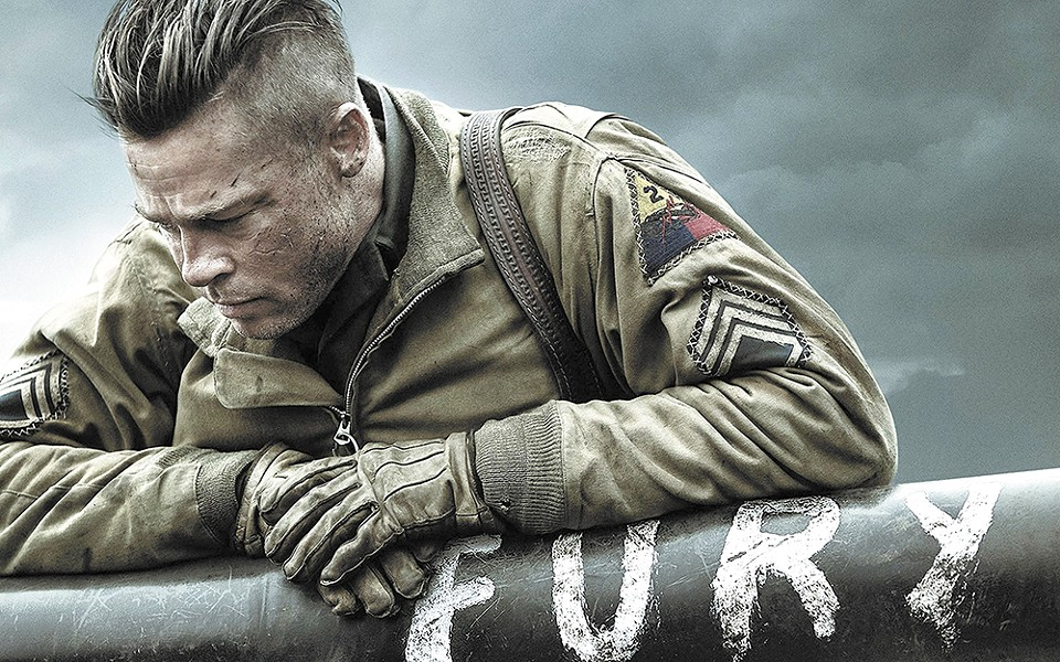 Brad Pitt returns to badass mode in Fury.