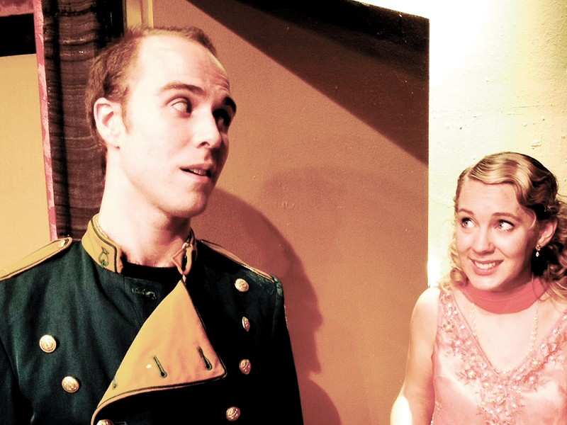 Brandon Montag and Alyssa Herzinger star in Lake City Playhouse's Lend Me a Tenor. - COURTESY OF LAKE CITY PLAYHOUSE