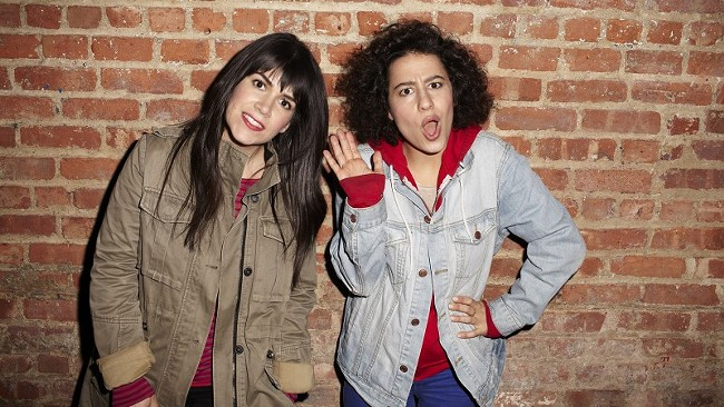 Broad City's Abbi Jacobson (left) and Ilana Glazer