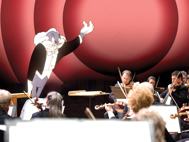 Bugs Bunny with the Spokane Symphony Orchestra