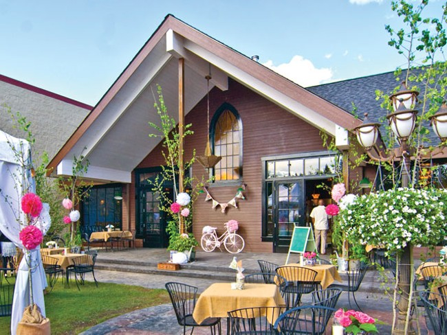 Cake — a church of the immaculate tart in Latah Valley - TAMMY MARSHALL