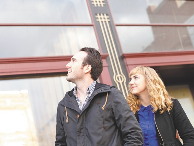 Caleb, left, and Karli Ingersoll - YOUNG KWAK