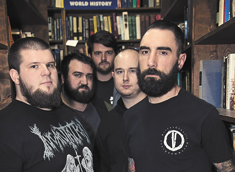 Call of the Void is one of the few metal acts to come out of Boulder, Colorado.
