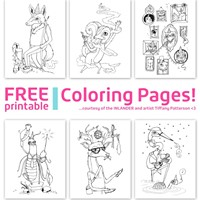 Calling all artists for our Best Of coloring contest