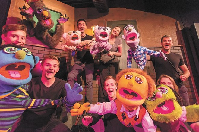 Cast of Avenue Q - MATT WEIGAND