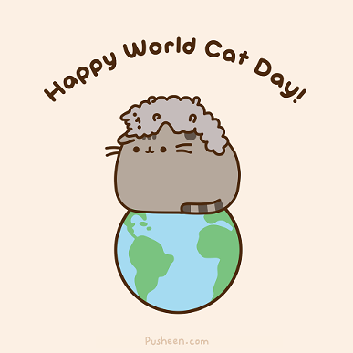 Pusheen is one of our favorite cat characters. - PUSHEEN.COM
