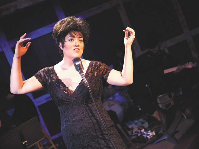 Cheyenne Nelson has been authorized by Cline's estate to play the lead in Always...Patsy Cline. - STEPHEN SCHLANGE
