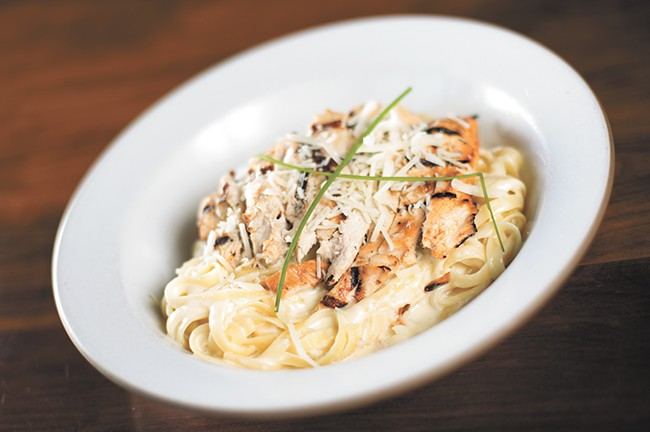 Chicken Alfredo by Steven Walk