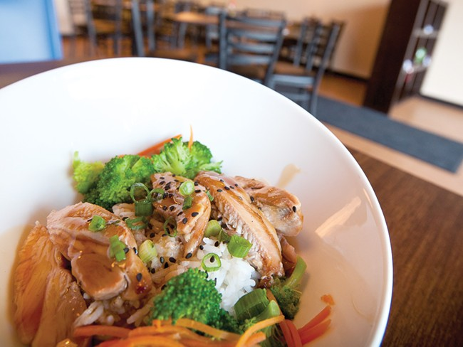 Chicken Teriyaki at Chan Bistro - MIKE MCCALL