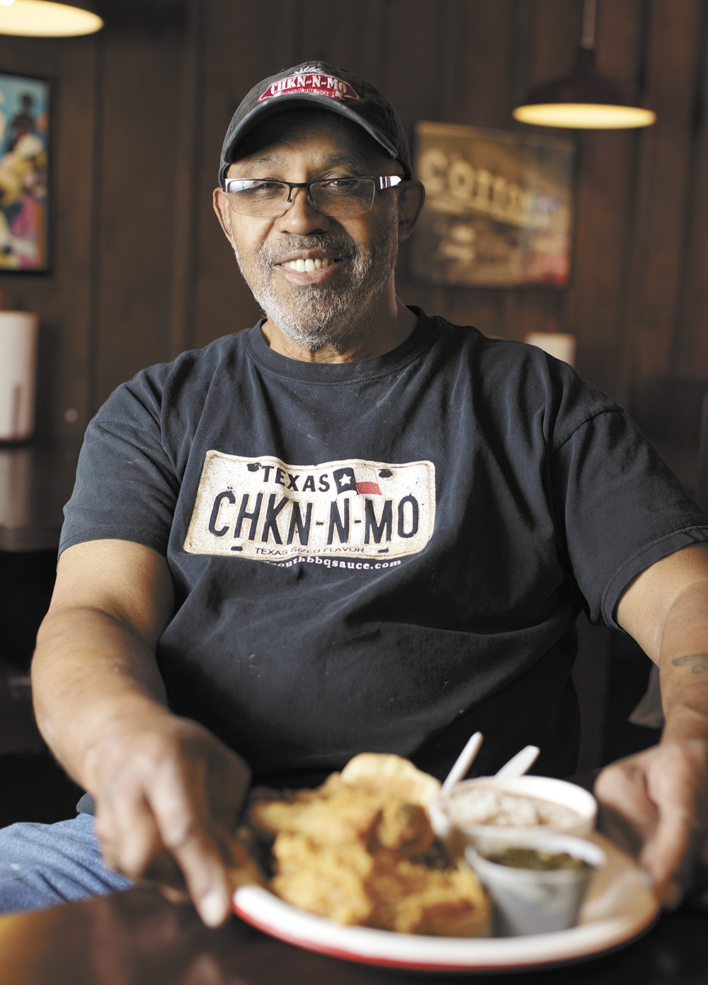 Chkn-N-Mo owner Bob Hemphill has been serving fried chicken in Spokane for 23 years. - YOUNG KWAK