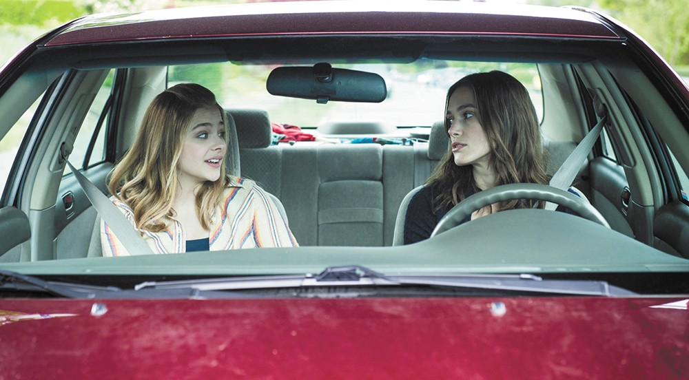 Chloë Grace Moretz and Keira Knightley embrace adolescence in Laggies.