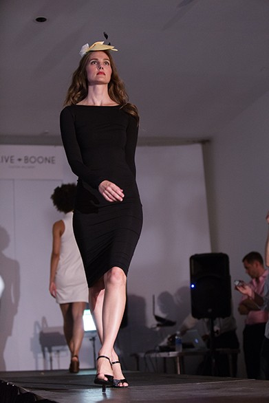 Christine Cresswell walks the runway. - YOUNG KWAK