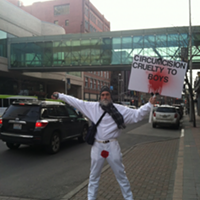 Circumcision protester targets South Hill pediatrics clinic
