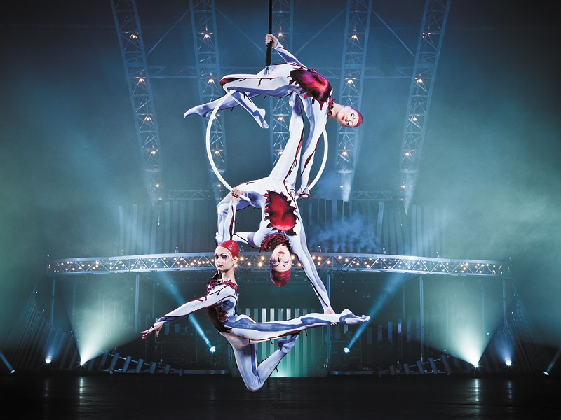 Cirque du Soleil's new show features 52 performers.