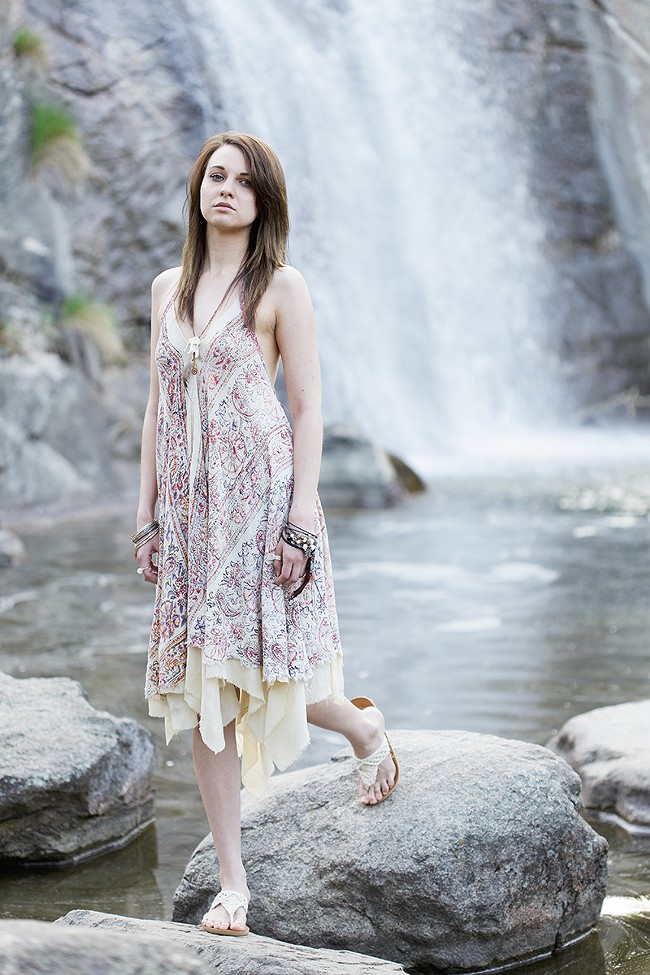 Clothing and jewelry by Gianna Morrill. Model: Bethanie Bushnell - YOUNG KWAK