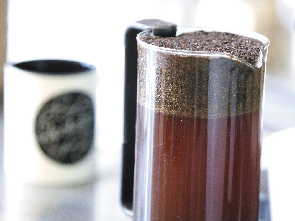 Cold-brewed coffee is less acidic and easier on the stomach. - YOUNG KWAK