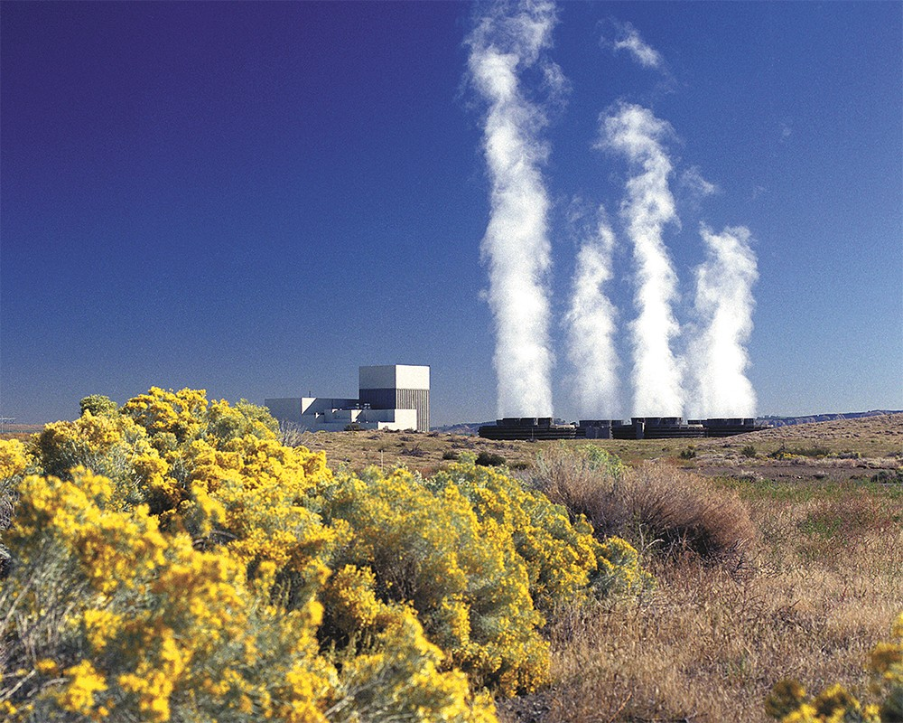 Columbia Generation Station, located on the Hanford Nuclear Reservation, has been operating since 1984. - COURTESY OF ENERGY NORTHWEST