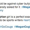 Cougs win and still embarrass themselves with #MeganCoghlanSucks