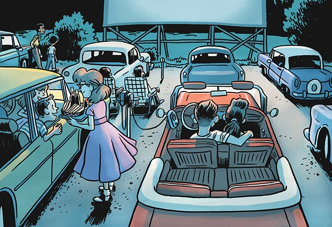 Could a drive-in return to Spokane? - JIM CAMPBELL