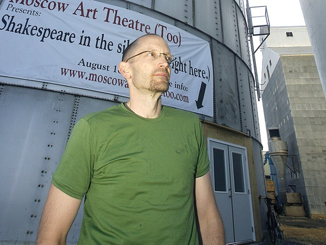 Dave Harlan didn't see an eyesore in Moscow's grain silos. He saw potential. - ALICIA CARLSON