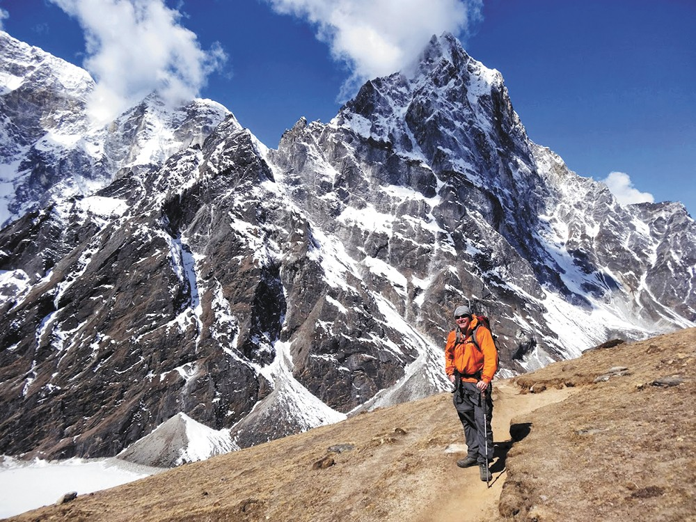Dave Mauro has climbed the tallest peak on each continent.