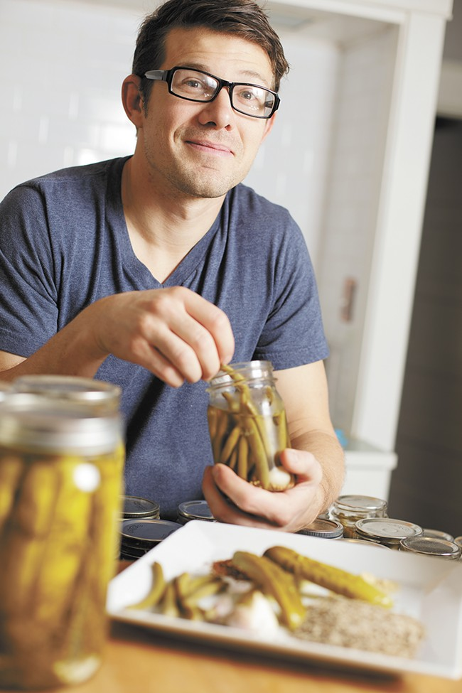 Dave Musser grew up pickling and is now passing on the knowledge to his own kids. - YOUNG KWAK