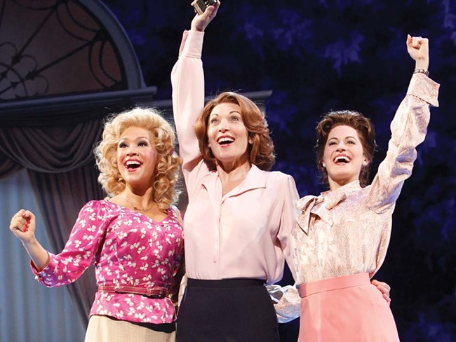 Dee Hoty (middle) is a singing, dancing Lily Tomlin in 9 to 5.