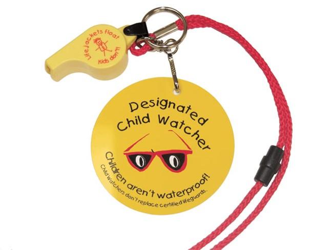 Designated child watcher system