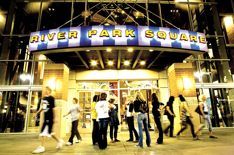 Despite being in a smaller location, River Park Square has managed to avoid many of the problems dogging malls nationwide.