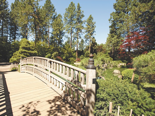 Despite confusion over what it should feature, Spokane continues to find peace in the one-acre reserve. - YOUNG KWAK