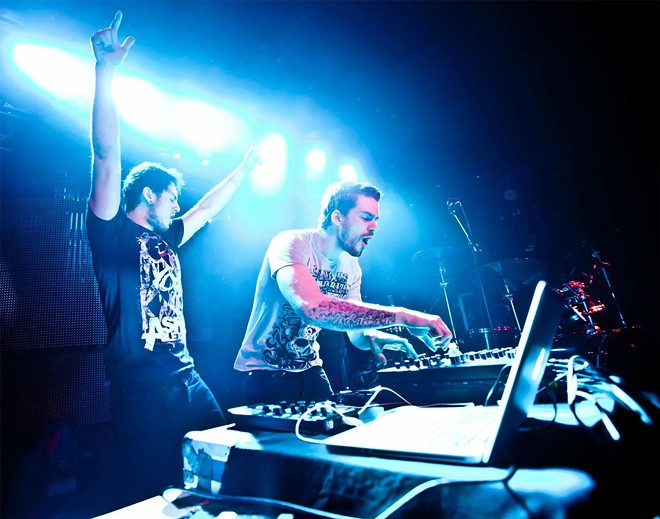 DJ's Christian Srigley and Leighton James create EDM duo Adventure Club.