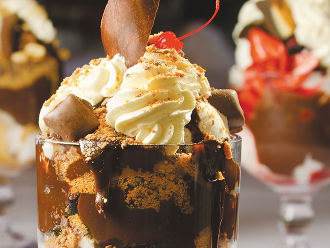 Dockside is known for its desserts, but don\'t overlook the rest of the menu.