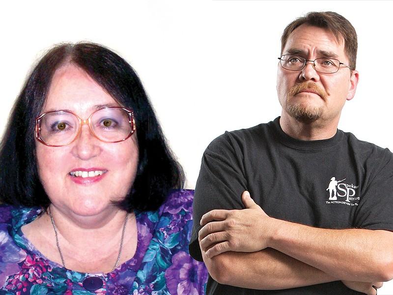 Donna McKereghan and Mike Fagan